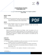 Plan Anual JMV Perú 2019