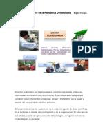 Sector cuaternario de la República Dominicana