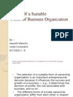 Business Organization PPT