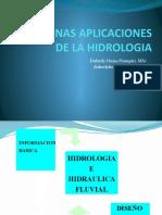 H01b - Algunas aplicaciones de la hidrologia