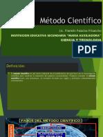 Método Científico PRIMERA SESION (1)