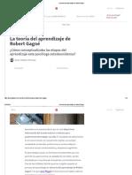 La teoría del aprendizaje de Robert Gagné.pdf