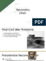 reconstruction  2