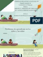 Problemas de aprendizaje en los niños y las.pptx