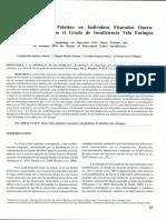 Morfología del Velo Palatino en Individuos Fisurados Operados, y su Relación con el Grado de Insuficiencia Velo Faríngea.
