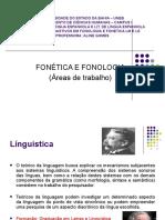 6 Áreas de trabalho - Fonética e Fonologia (2)