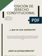 expocion de costitucional