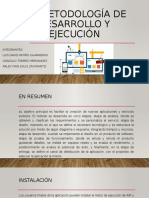 3.1 Metodología de desarrollo y ejecución