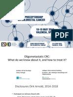 2018-ESMO-preceptorship-CRC-Oligometastatic-Dirk-Arnold