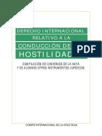 DI. Relativo a Conduccion de Hostilidades CICR (instrumentos Juridicos)