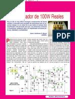 Amplificador de 100W Reales (Montajes) - SE273.pdf