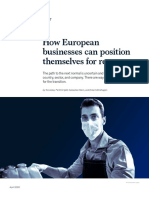 How European Businesses Can Position Themselves for Recovery Final