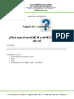 UNIDAD DE APRENDIZAJE 3-QUINTO- FACTORES MCM Y MDM (Recuperado automáticamente)