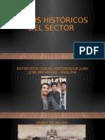 Datos históricos del sector