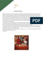 Sobre música colonial en el Cusco