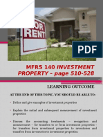 MFRS140 INVESTMENT PROPERTY