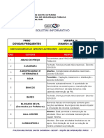 PMSC - BOLETIM INFORMATIVO 16 25MAR20