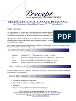 Finance for Non-Finance Personnel 2011