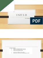 Unit 2B
