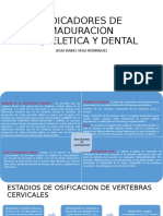INDICADORES DE CRECIMIENTO Y MADURACION EMBRIOLOGIA