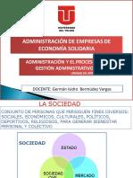 UT3 PROCESO DE GESTIÓN ADMINISTRATIVO