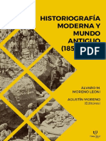 Moreno Leoni Moreno Historiografía Moderna y Mundo Antiguo 1850 1970