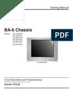 SONY TV BA6 Chassis Training Manual(CTV30)