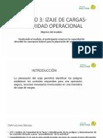 MODULO 3 IZAJE DE CARGAS SEGURIDAD OPERACIONAL CONTENIDOS