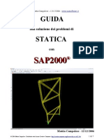 Ingegneria - Risolvere Problemi Di Statica Con SAP2000 - By Mattia Campolese