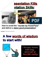 Lecture 1 - From Presentation Kills to Presentation Skills (Part-1).ppt