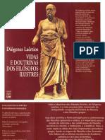 Vidas e Doutrinas Dos Filosofos Ilustres Diogenes Laercio