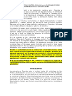 CONTROVERSIA TERRITORIAL Y MARÍTIMA (NICARAGUA contra COLOMBIA).docx