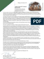 Weihnachtsbrief von Pater Marian Wos
