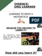 EVIDENCE Lifelong learner