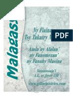 Malagasy Ny Fiainana Tsy Takatry Ny Saina