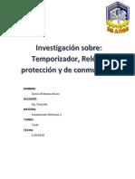 ALVARO GARCIA ANTEZANA TEMPORIZADOR RELES DE PROTECCION RELE DE CONMUTACION