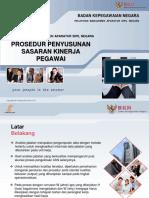 Materi Peserta - Pelatihan Prosedur Penyusunan Sasaran Kinerja Pegawai