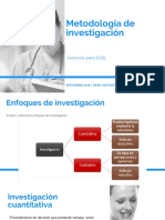 Metodologiìa de investigacioìn