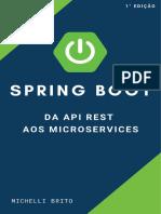 eBook Spring Boot