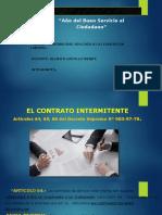 Contrato Intermitente