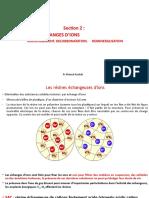 Section 2 Echange d'ions/ Pr KHERRAT