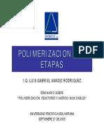 2 - Polimerización por Etapas