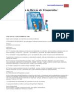Código de Defesa do Consumior  - CDC