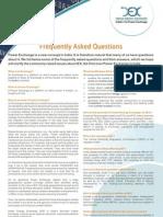 IEX FAQ