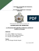 TEORIA DE CONFLICTO