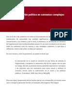 01. La implementacion politica en contextos complejos y dinamicos.pdf