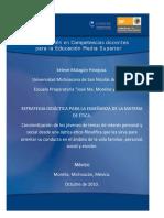 Estrategia didáctica para la enseñanza de la materia de Ética - Selene Malagón Hinojosa