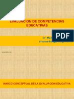 Evaluación de competencias educativas - Manuel Salvador Saavedra Regalado