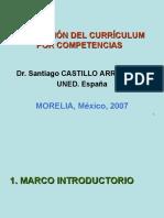 Evaluación del currículum por competencias - Santiago Castillo Arredondo