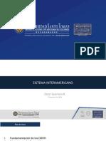 Presentacion Completa Clase Sistema Interamericano